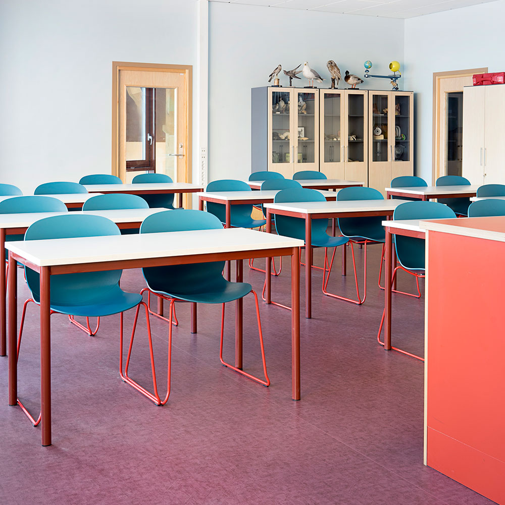 RBM Noor chair for education spaces and classrooms
